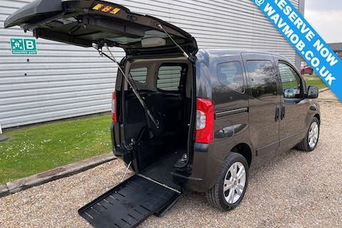 Black FIAT Qubo MultiJet Mylife Dualogic 2012