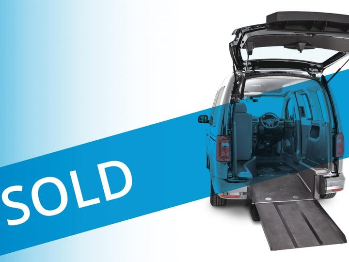 Blue Volkswagen Caddy C20 Life TDi 2020