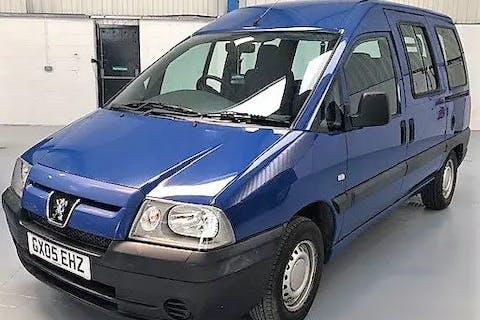 Blue Peugeot Expert 800 HDi 70 2005