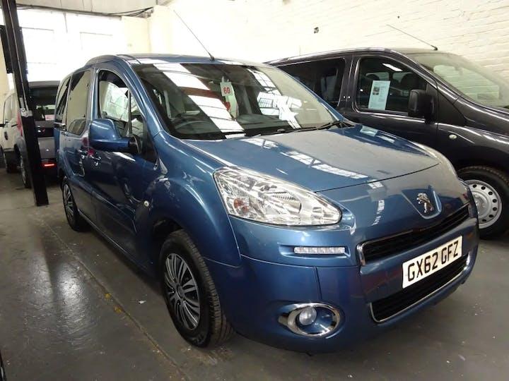 Blue Peugeot Partner HDi Tepee S 2012
