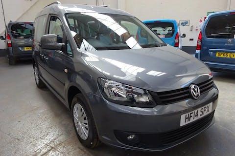 Grey Volkswagen Caddy C20 Life TDi 2014
