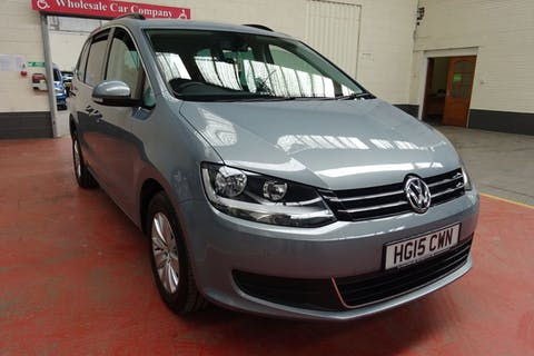 Grey Volkswagen Sharan SE TDi 2015