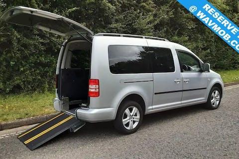 Silver Volkswagen Caddy Maxi C20 Life TDi 2014