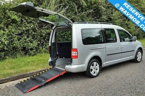 Silver Volkswagen Caddy Maxi C20 Life TDi 2015