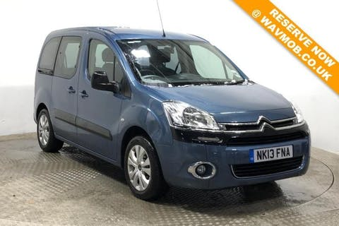 Blue Citroën Berlingo Multispace HDi Plus 2013