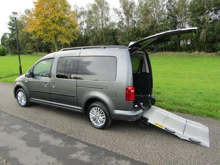 Grey Volkswagen Caddy Maxi C20 Life TDi 2018