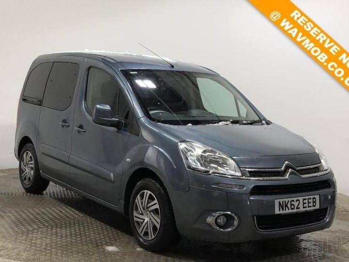 Grey Citroën Berlingo Multispace Airdream Vtr Egs E-hdi 2012