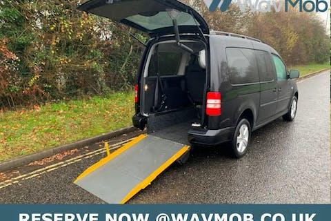 Black Volkswagen Caddy Maxi C20 Life TDi 2014