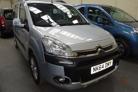 Silver Citroën Berlingo Multispace HDi Xtr 2014
