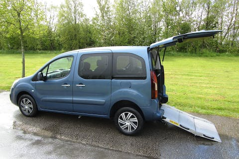 Blue Citroën Berlingo Multispace Bluehdi Feel Edition Etg6 2016