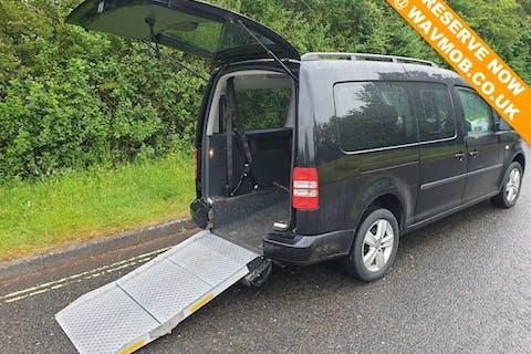 Black Volkswagen Caddy Maxi C20 Life TDi 2016