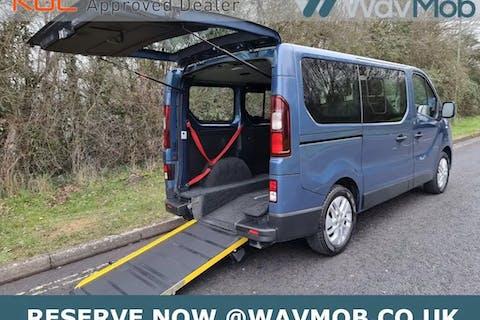 Blue Renault Trafic Sl27 Sport DCi S/r P/v 2016