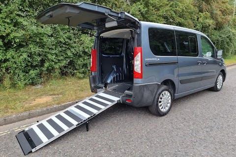 Grey Peugeot Expert Tepee Comfort L1 HDi 2014