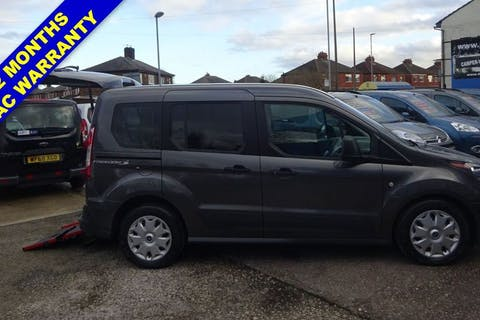 Grey Ford Tourneo Connect Zetec TDCi S/S 2017