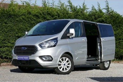 Silver Ford Tourneo Custom 2.0 310 Titanium 2018