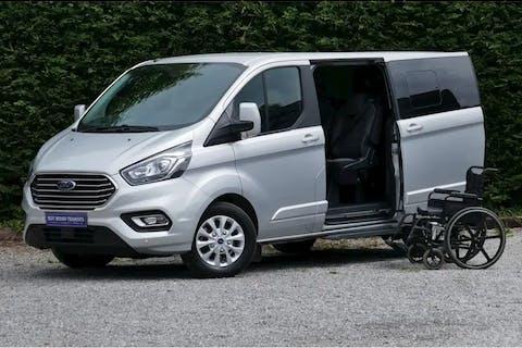 Silver Ford Tourneo Custom 2.0 320 Titanium 2019