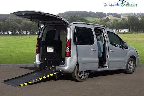 Silver Citroën Berlingo Multispace HDi Vtr 2013