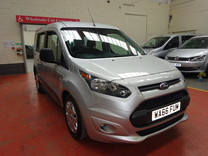Silver Ford Tourneo Connect Zetec TDCi 2016