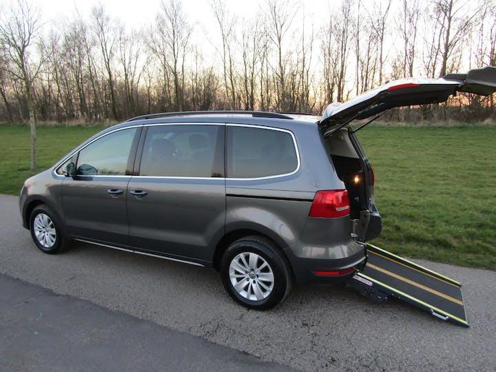Grey Volkswagen Sharan SE TDi Bluemotion Technology 2013