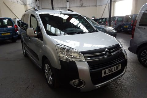 Silver Citroën Berlingo Multispace Xtr HDi 2010