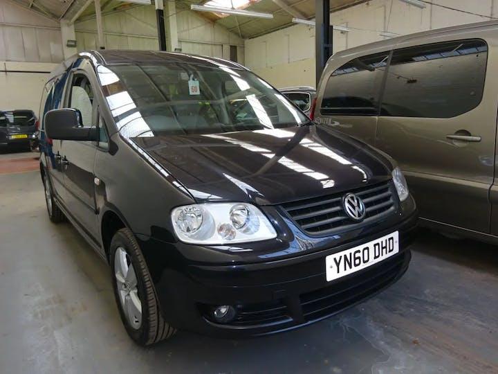Black Volkswagen Caddy Maxi Life TDi 2010