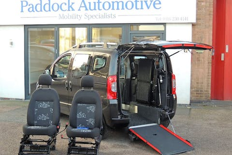 Black FIAT Qubo MultiJet Dynamic Dualogic 2011