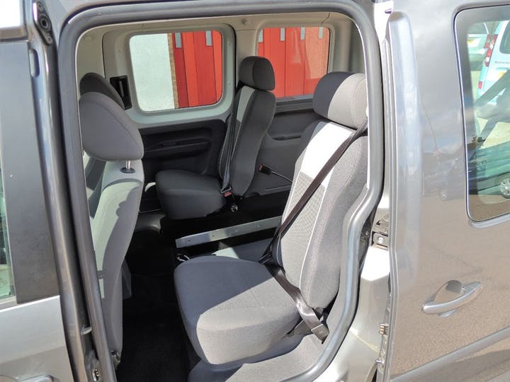 Grey Volkswagen Caddy C20 Life TDi 2011