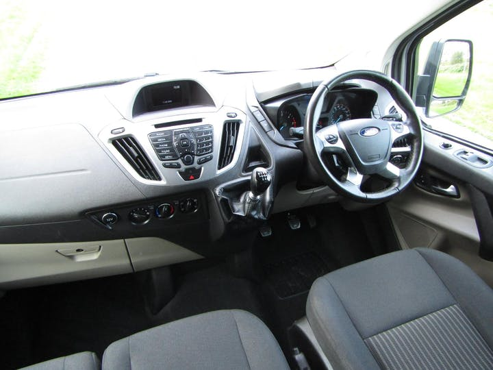 Silver Ford Tourneo Custom 310 Zetec TDCi 2017