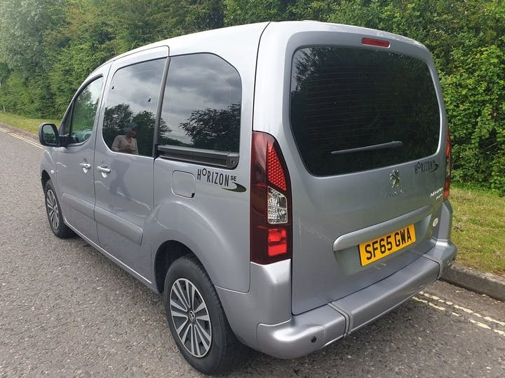 Grey Peugeot Partner Tepee Active 2015