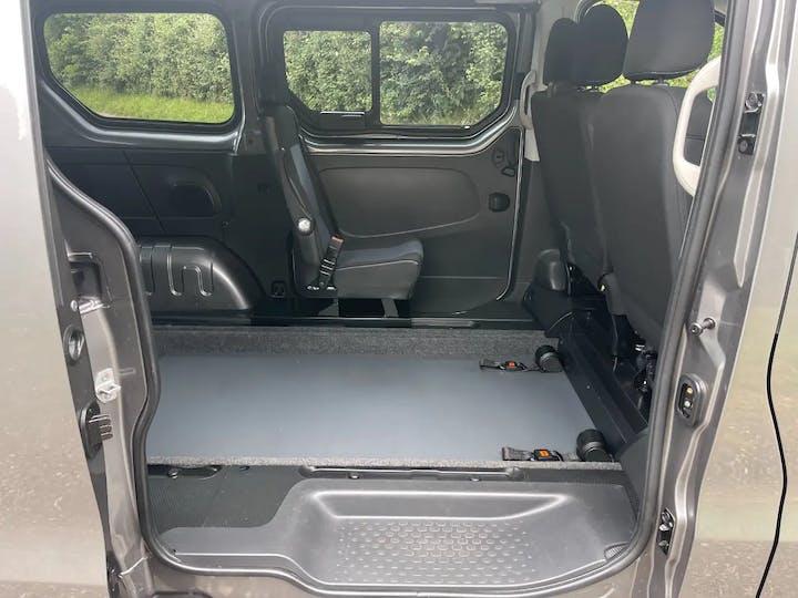 Grey Vauxhall Vivaro L1h1 2900 Combi CDTi Ecoflex S/S 2018