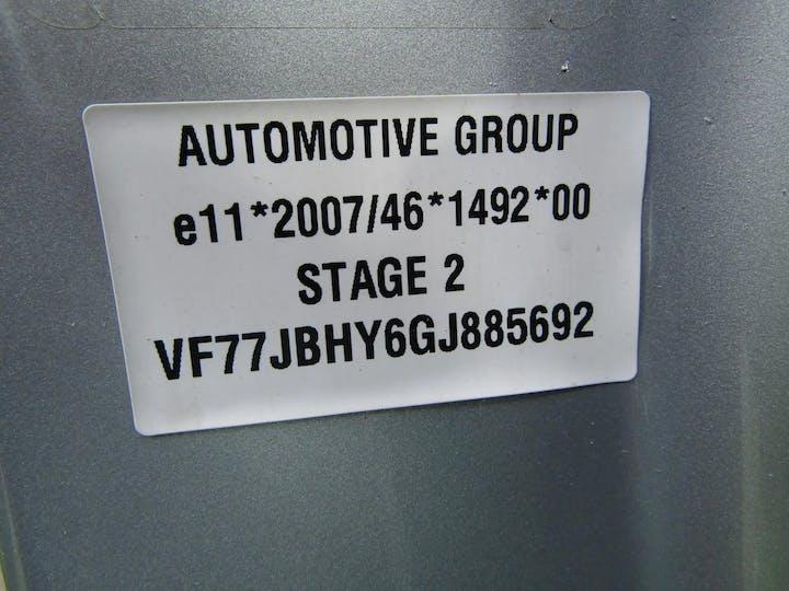 Silver Citroen Berlingo Multispace Bluehdi Edition 2017