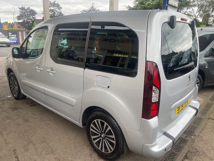 Silver Peugeot Partner Blue HDi Tepee Active 2018