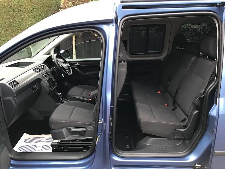 Blue Volkswagen Caddy Maxi C20 Life TDi 2018