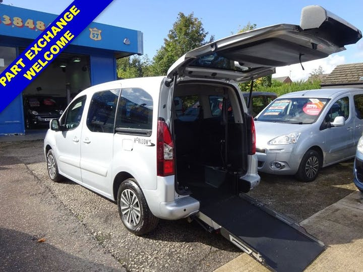 Silver Peugeot Partner Tepee Active 2015