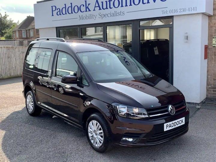 Purple Volkswagen Caddy C20 Life TDi 2017