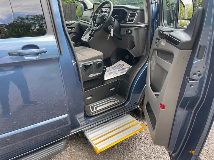 Blue Ford Tourneo Custom 320 Titanium Ecoblue 2020