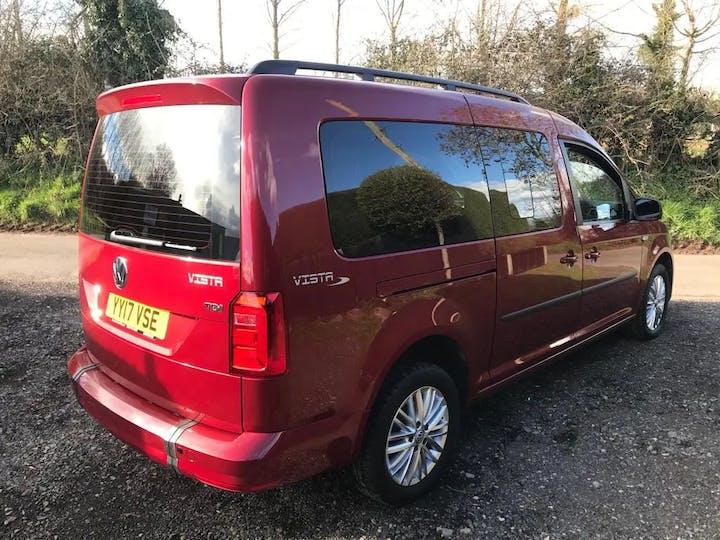 Red Volkswagen Caddy Maxi C20 Life TDi 2017