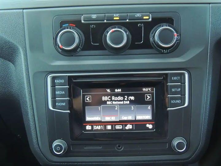 Blue Volkswagen Caddy C20 Life Tsi 2018