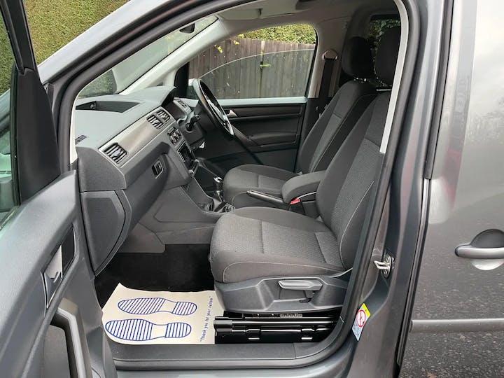 Grey Volkswagen Caddy Maxi C20 Life TDi 2017