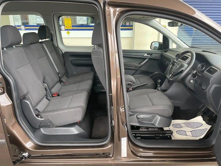 Brown Volkswagen Caddy Maxi C20 Life TDi 2018