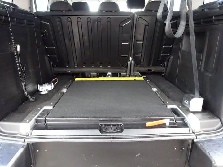 Grey Peugeot Partner E-hdi Tepee S 2013