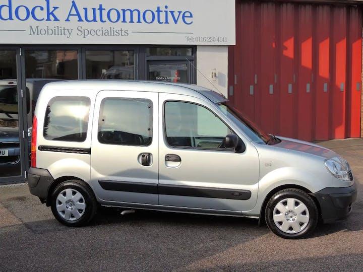 Silver Renault Kangoo Authentique Dci 2008