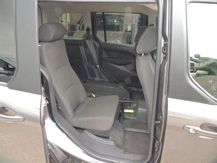 Grey Ford Tourneo Connect Titanium TDCi 2017