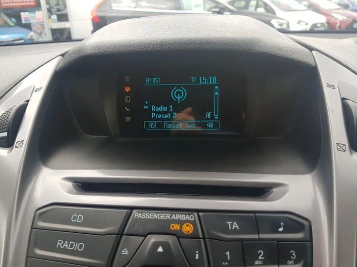 Blue Ford Tourneo Connect Zetec TDCi 2016