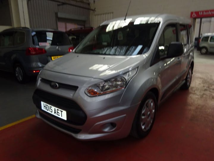 Silver Ford Tourneo Connect Zetec TDCi 2015