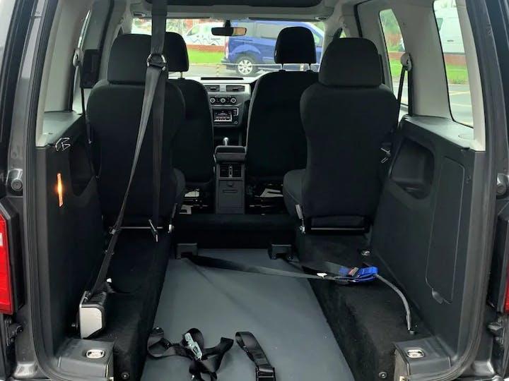 Grey Volkswagen Caddy C20 Life TDi 2016
