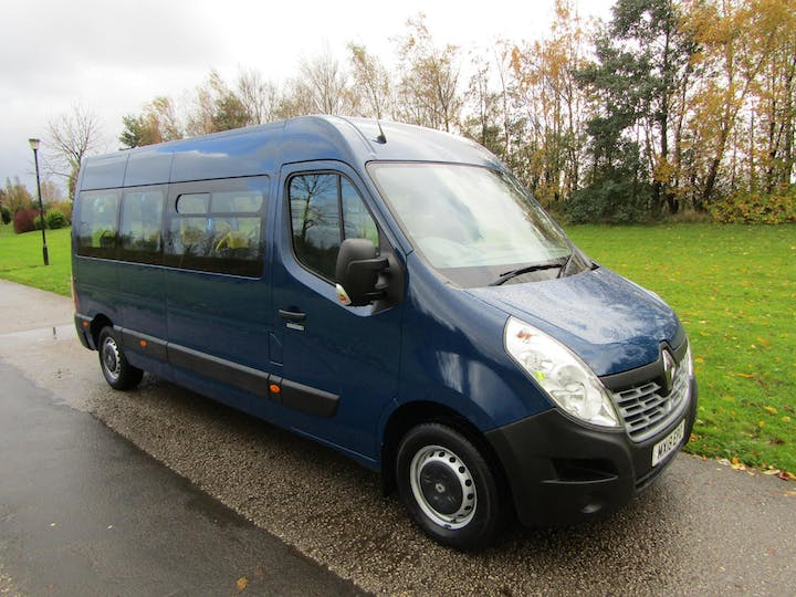 Blue Renault Master Lm35 Business Dci 2018