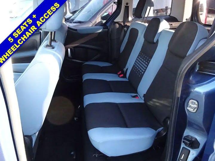 Blue Citroen Berlingo Multispace HDi Plus 2013