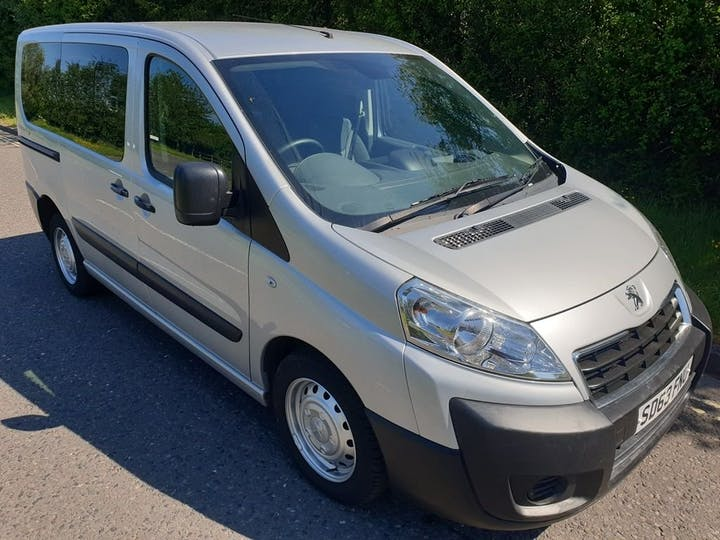 Silver Peugeot Expert HDi Tepee Comfort L1 2013
