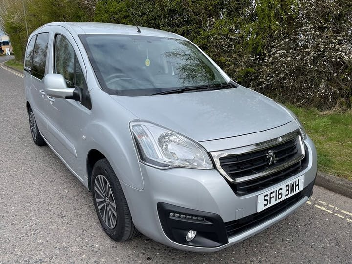 Silver Peugeot Partner Blue HDi S/S Tepee Active 2016